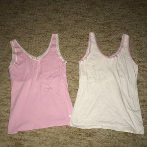 Puma women's tank tops (2) with shelf bra